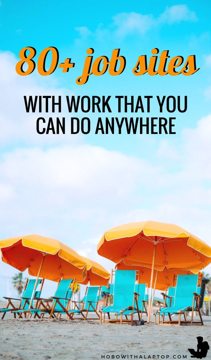We compiled this list of 80+ nomad job portal sites to help existing digital nomads get by, and aspiring nomads to find their footing. If there's any that we missed or you'd like to share your experiences with any of the sites listed below, we'd love to hear from you in the comments. READ MORE: http://hobowithalaptop.com/big-list-of-digital-nomad-job-sites