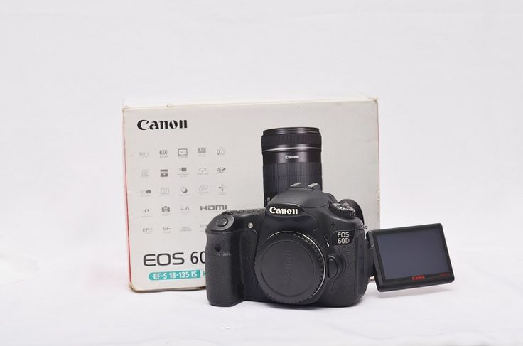 Jual Kamera DSLR Bekas – Canon EOS 60D Box: LAKU