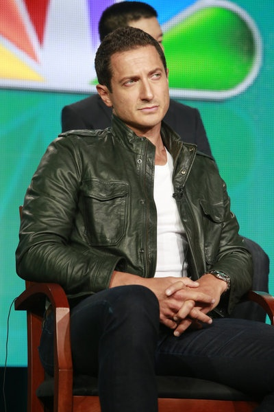 Sasha Roiz during the Grimm panel at TCAs