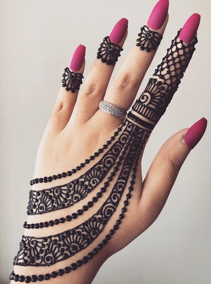 Top 111+ Latest & Simple Arabic Mehndi Designs for Hands & Legs   Henna tattoo designs simple, Henna tattoo designs, Mehndi art designs