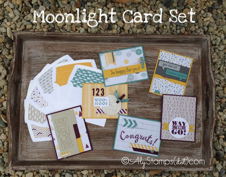 Card Set featuring lots of NEW Products!