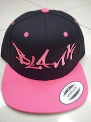 Too much pink? No such thing! Blankhatsforcharity Graffitti!
