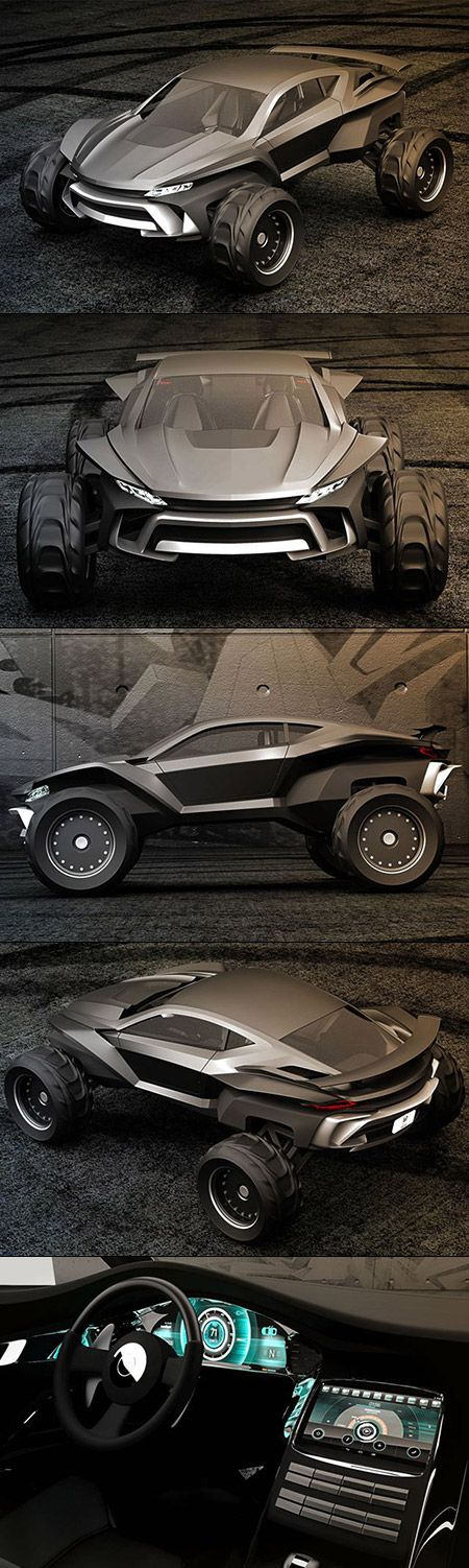 Gray Design is looking to end the debate, creating what could be the absolute best vehicle for the zombie apocalypse. Meet the Sidewinder, an insane dune buggy designed for whatever you can throw at it. The project was spearheaded by the folks at Grey Design, who chose an LSX Bowtie big block engine as the power plant. The end result is a setup that pumps out 630 horsepower and 442 lb-ft of torque, helping this beast sprint to 60 mph in just 4.2 seconds, with a top speed of 93mph.