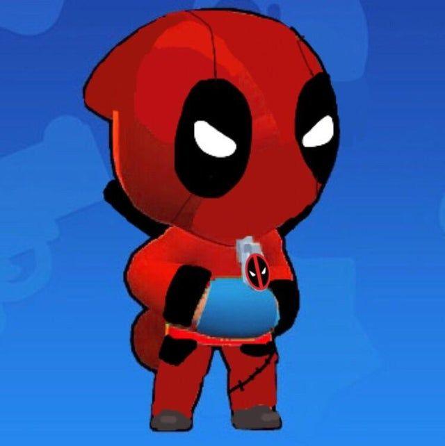 Deadpool Leon Made Myself Brawlstars In 2020 Star Wallpaper Deadpool Stars