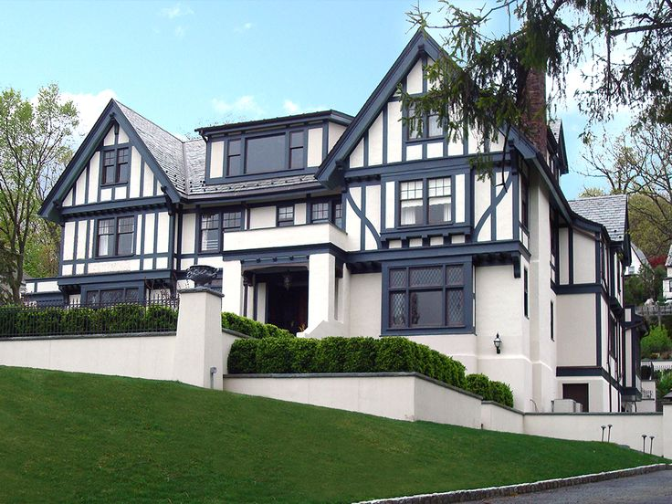 102 best english tudor paint colors images on pinterest for Exterior paint colors for tudor homes
