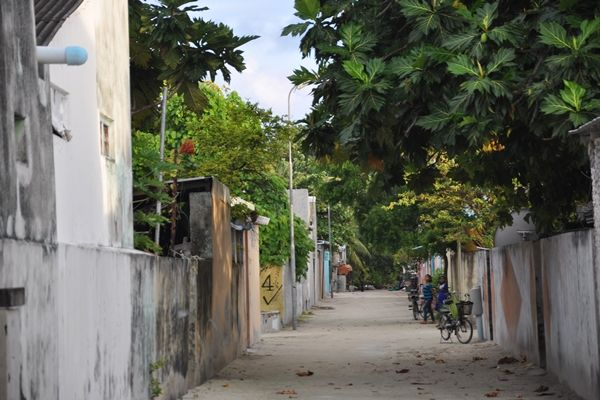 Local streets in Thulusdhoo #Maldives #travel #street #photography #islandlife