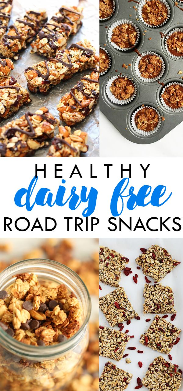 15 Healthy Dairy Free Road Trip Snacks for your next vacation! || Lean, Clean, & Brie