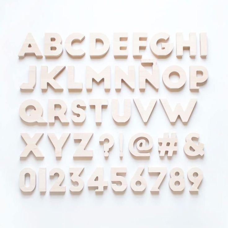 Las 25 mejores ideas sobre decorar letras de madera en - Letras para decorar habitacion infantil ...