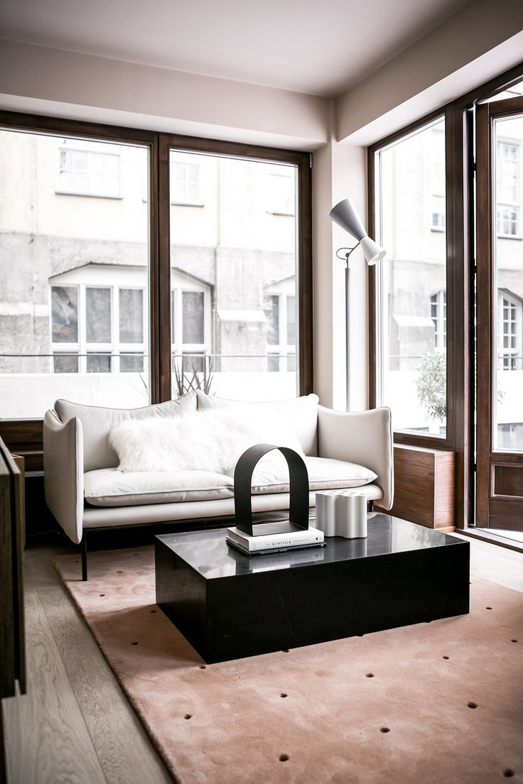 Living Room : Mono By Note Design Studio Via Coco Lapine Design Blog