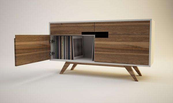 CYCLOPS Lp storage cabinet by Sándor Attila, via Behance