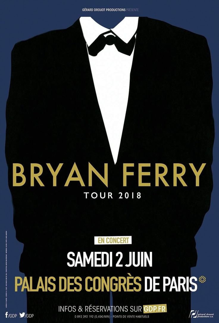 More live dates outside the UK are coming in 2018 - starting with  Palais des Congres in Paris on June 2nd! Tickets on sale this Friday...