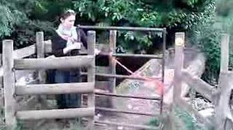 kissing gate - YouTube