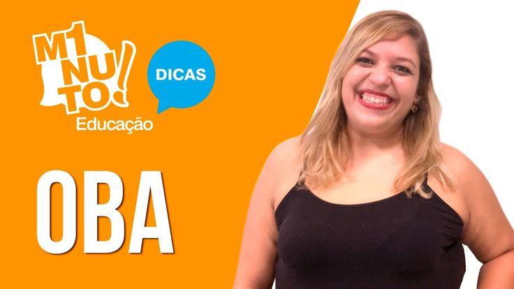 Assista ao #MinutoEducação de hoje para saber mais sobre a OBA - Olimpíada Brasileira de Astronomia e Astronáutica. :-)