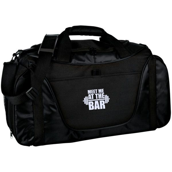 Meet Me At The Bar (Gym Bag)