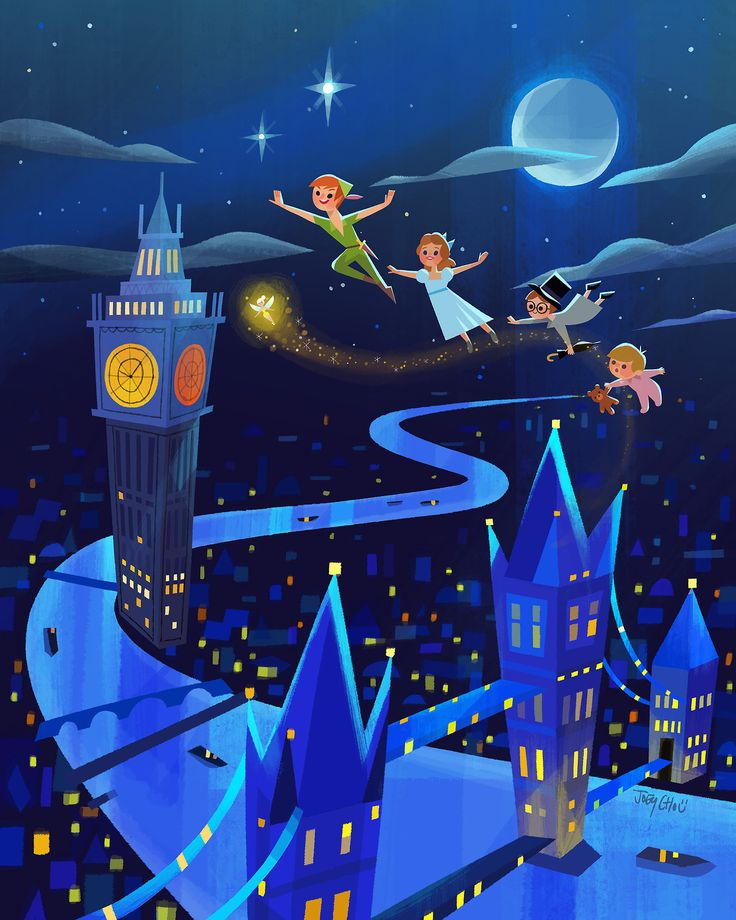 """Can't believe #D23Expo2017 is almost here! D23.com """"Peter Pan's Flight"""" is one of my new pieces thats gonna be released at the expo. July 14-16th Anaheim Convention Center. Ill be doing signing 7/13 10am-2:30pm (DreamStore) 7/14 1:30-4pm (talent..."""
