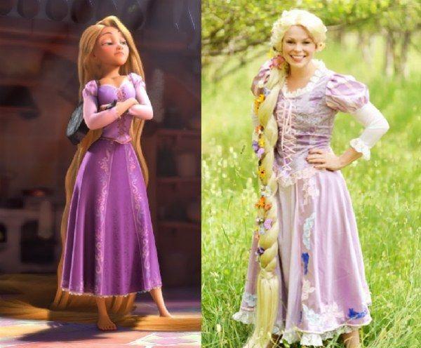 """Rapunzel de """"Enredados""""   Community Post: 16 disfraces de Disney ridículamente buenos que de hecho puedes comprar"""