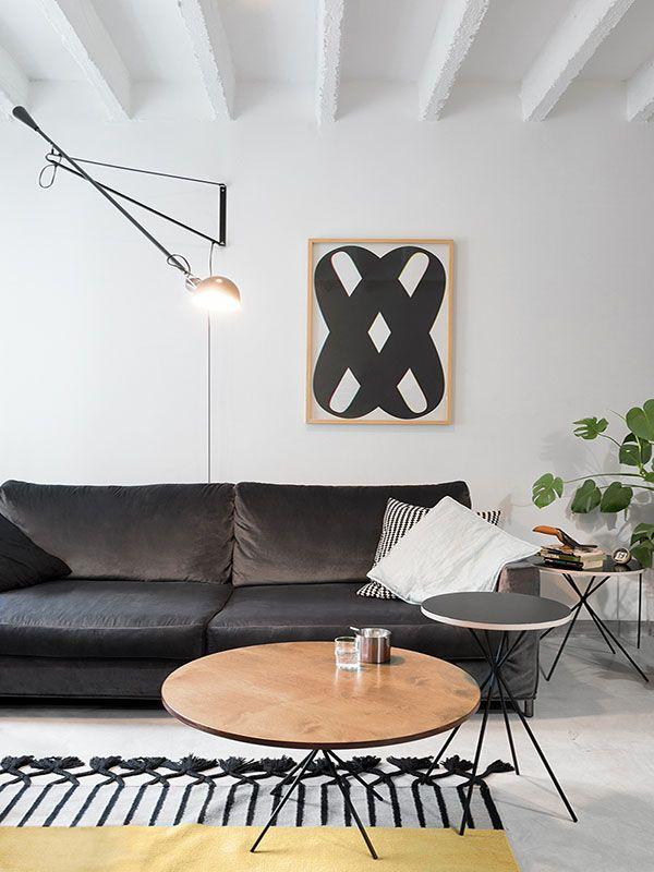 Un appart au style parfait (scandinave + vintage)