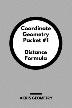 Calculating distance between points and using it to prove isosceles, scalene, or equilateral triangles, congruent segments, or perimeter of a figure. Included: A 16 problem Worksheet An 8 problem Homework Two versions of a short quiz/exit ticket - 2 questions calculating perimeter