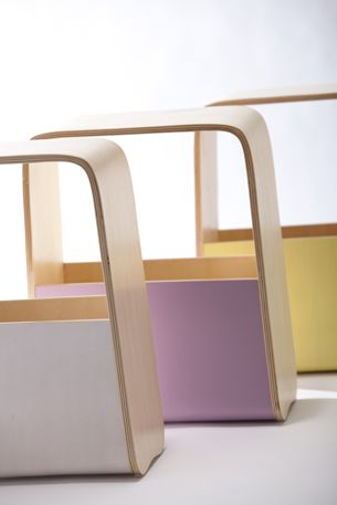 kids stool & storage by ideaco