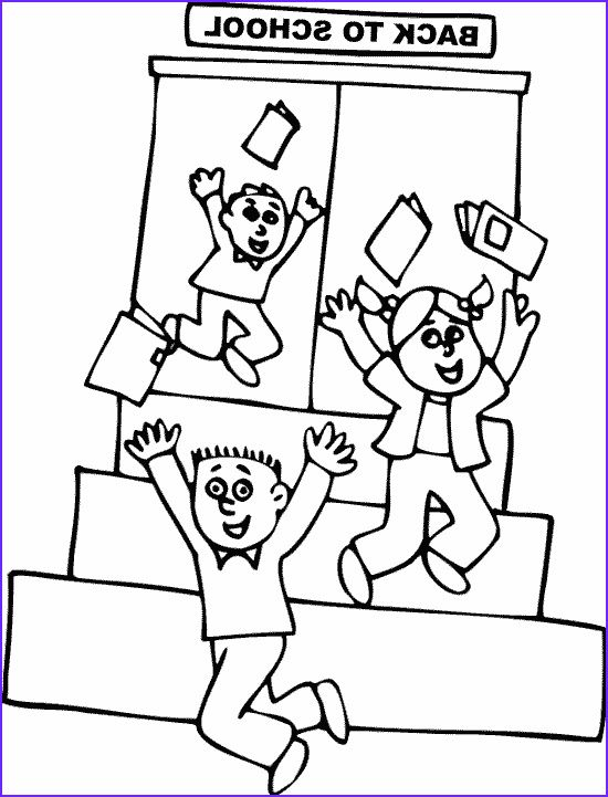 13 Best Of Back to School Coloring Pages for Preschool