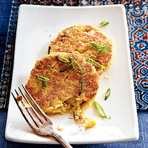 To create something new from leftover vegetables, Marie Rizzio's mother frequently made fritters out of eggplant, broccoli, and zucchini. Years later, Riccio replicated her mother's vegetable patties but made them healthier and incorporated summer squash. Rizzio avoids full-fat frying by lightly browning the croquettes in a touch of canola oil.