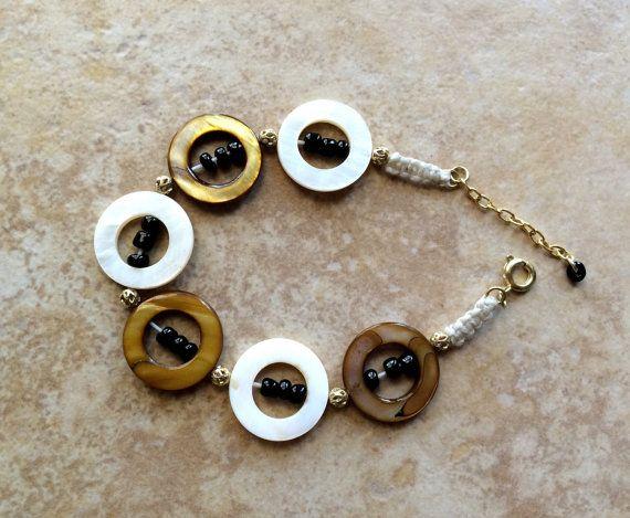 Bracciale bracciale di ambra perline perle di di FrancaandNen