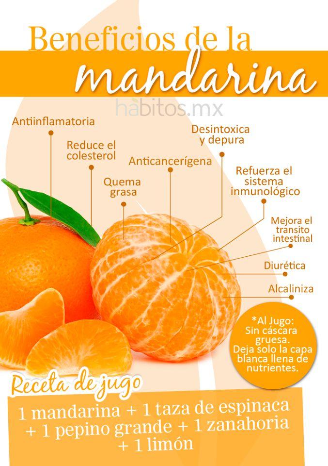 ¡La deliciosa mandarina!