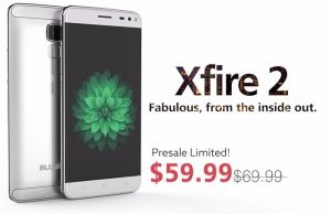 Bluboo XFire2 launched with 5-inch display, fingerprint scanner for US$59.99