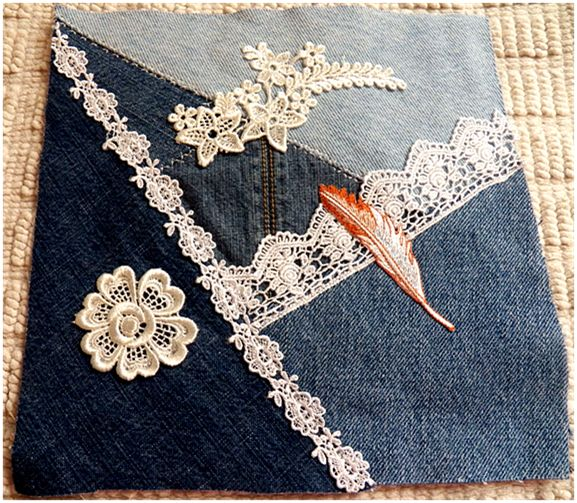 This denim quilt is awesome! Should do something similar someday.