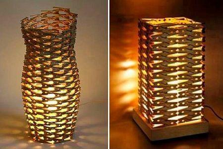 Como hacer una l mpara con ganchos de ropa originals - Como hacer una lampara de techo moderna ...