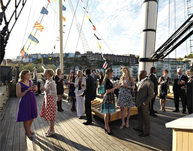 Brunel's ss Great Britain Wedding Venue