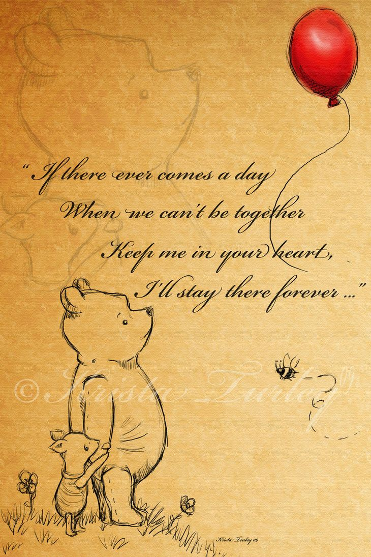 Pooh and Piglet another art piece for our babies room, I had alot of fun making this. I made a desktop version for myself lol. I hope you like it and I hope our little girl likes it, I was inspired...