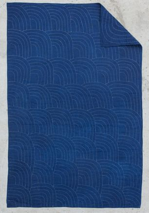 Folk Fibers Indigo Wholecloth Collection - Beautiful hand-crafted quilts.