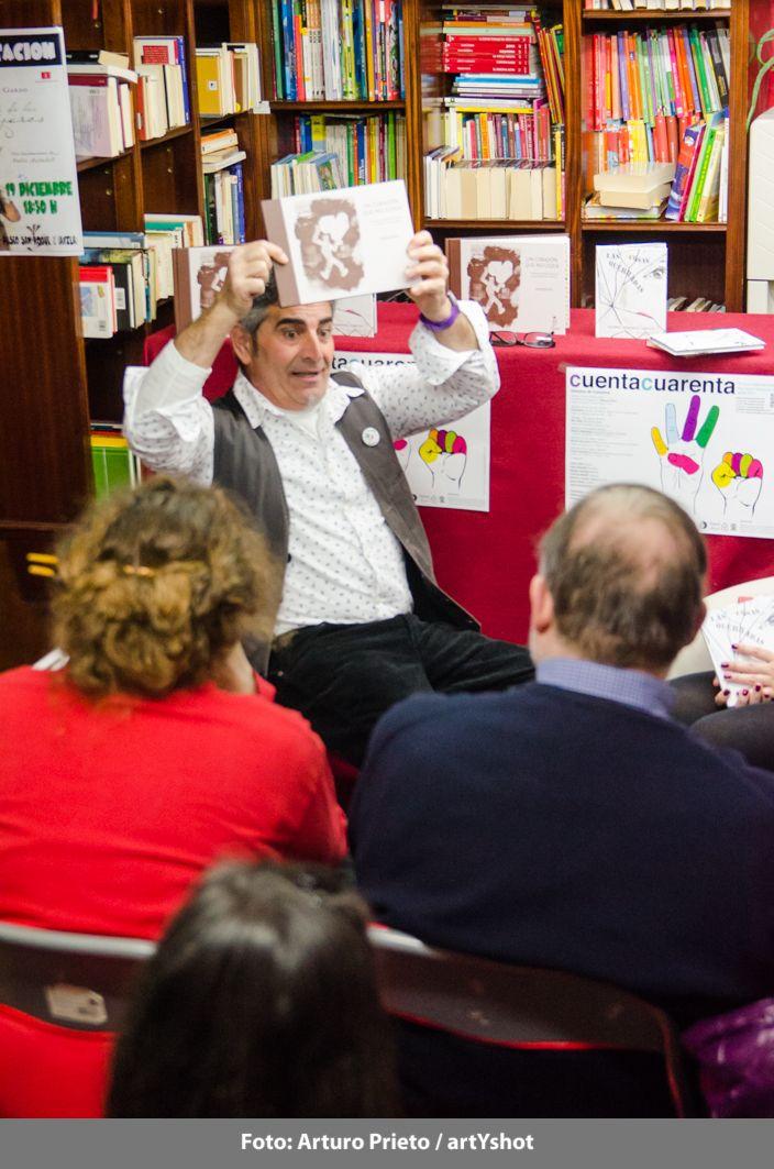 Hablamos de libros, en Librería Letras - Pepepérez - 27 de febrero Fotografía: Arturo Prieto / artYshot