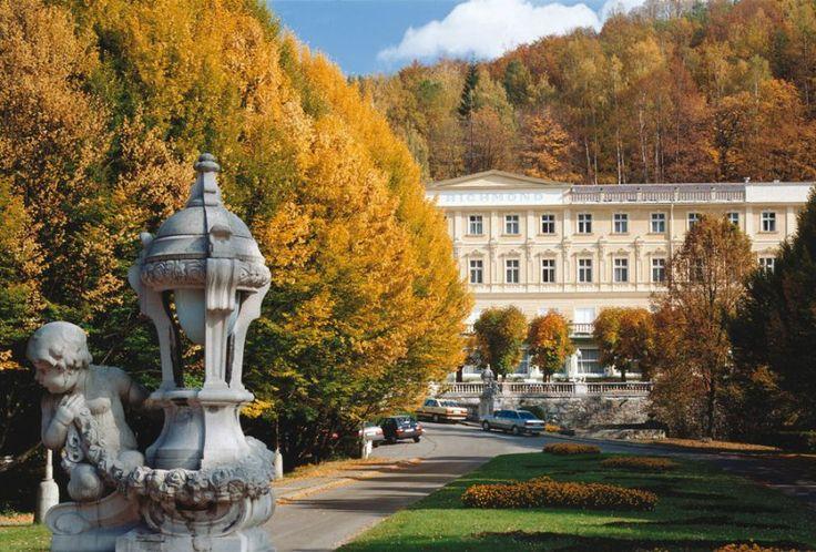 Parkhotel Richmond - Karlovy Vary  www.richmond.cz Lázeňský/Spa Hotel 4* Superior