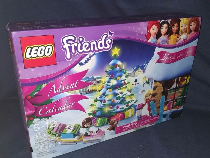 LEGO FRIENDS Advent Calendar. • Collect all of the LEGO Friends sets for a whole world of LEGO Friends fun! • LEGO® Friends pieces are fully compatible with all LEGO System bricks. | eBay!