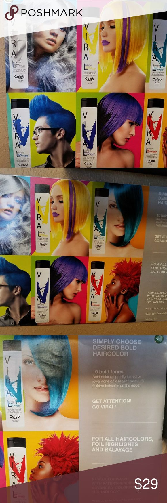 New Celeb Luxury Viral Hair Color Shampoo New color shampoos to either keep your color fresh or to add some temporary color to your blonde or white hair. Celeb Luxury Viral Other