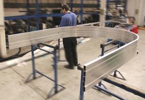 Aluminium extrusion @ www.barnshaws.com