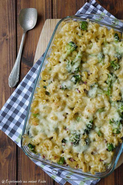 Experimente aus meiner Küche: Nudel-Brokkoli-Auflauf