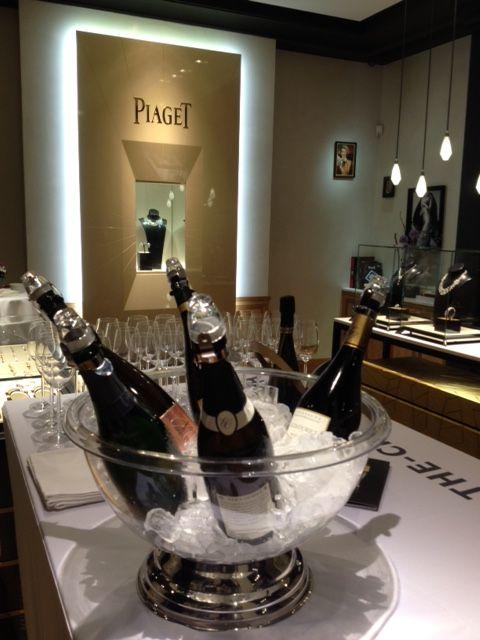 Champagne Tasting at Piaget Zürich with Champagne Veuve A. Devaux Cuvée D