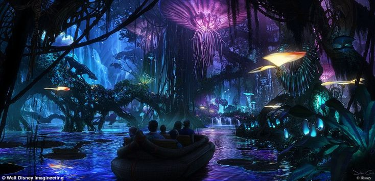 New pics offer a sneak peek of Disney's Pandora, The World of Avatar