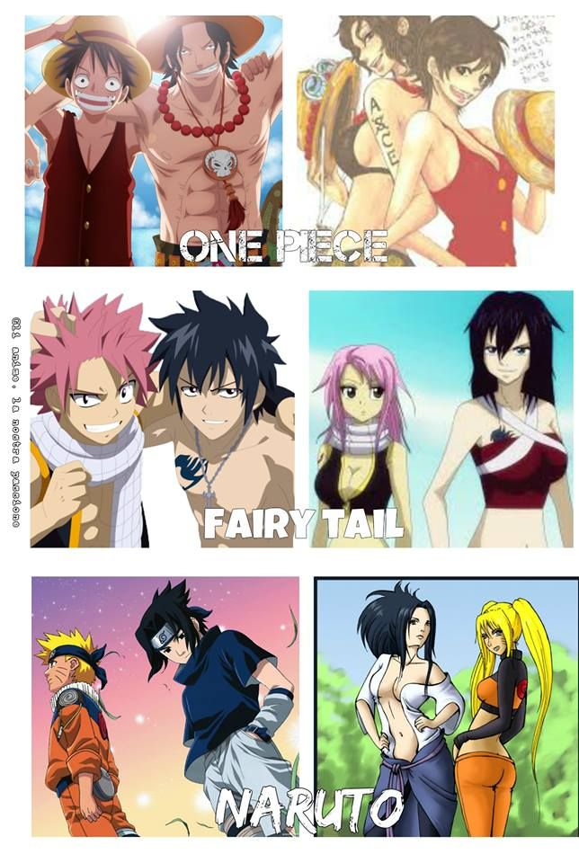 gender bender via facebook on we heart it anime