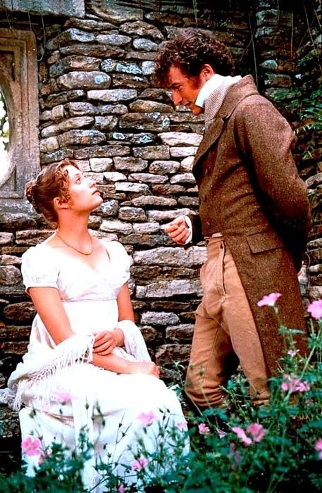 Jane and Bingley - Jane Austen's Pride and Prejudice (photo from the 1995 BBC TV series)
