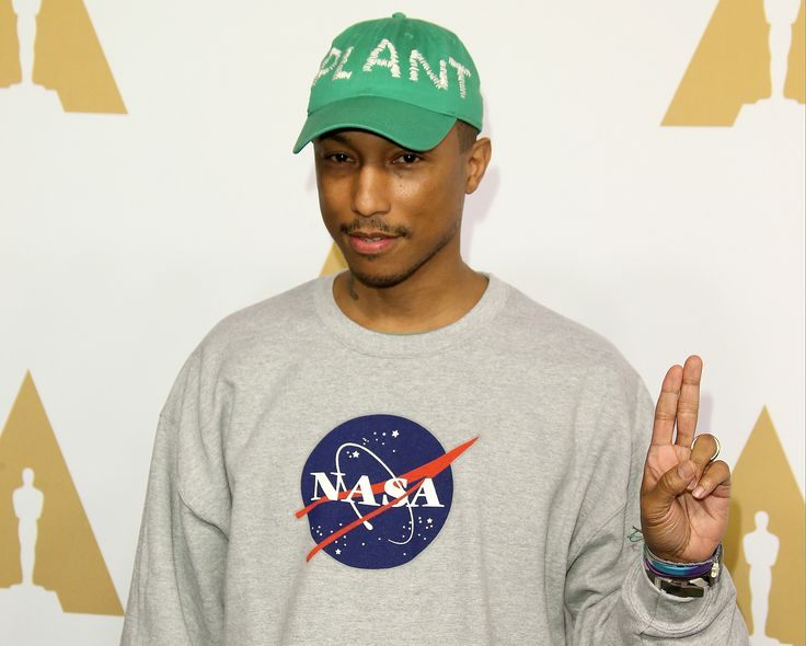 Watch NASA Nerd Pharrell Williams Explain His Lifelong Love of Space