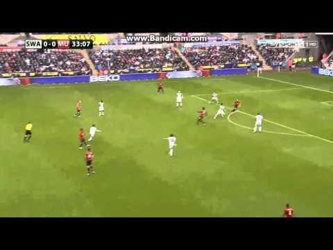 Robin Van Persie Amazing Goal vs Swansea (1-0)