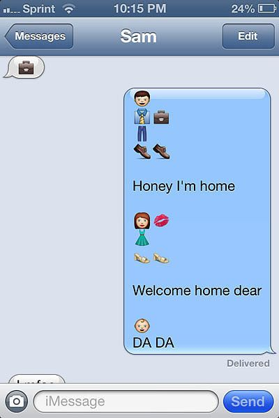 Funny Emoji Texts | POPSUGAR Tech