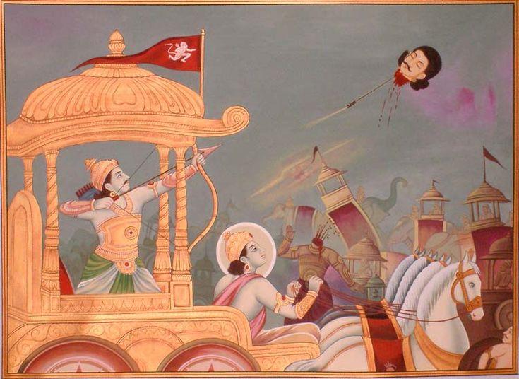 arjuna kills jayadratha