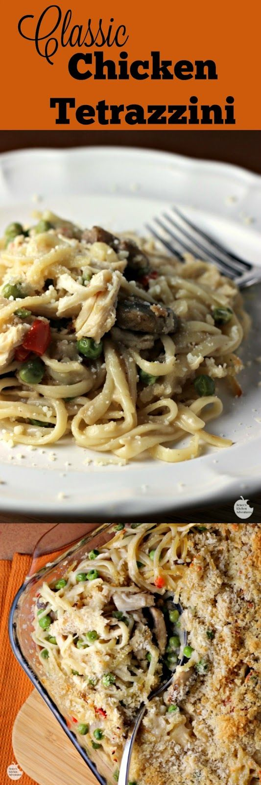 Slow Cooker Chicken Tetrazzini Recipe — Dishmaps