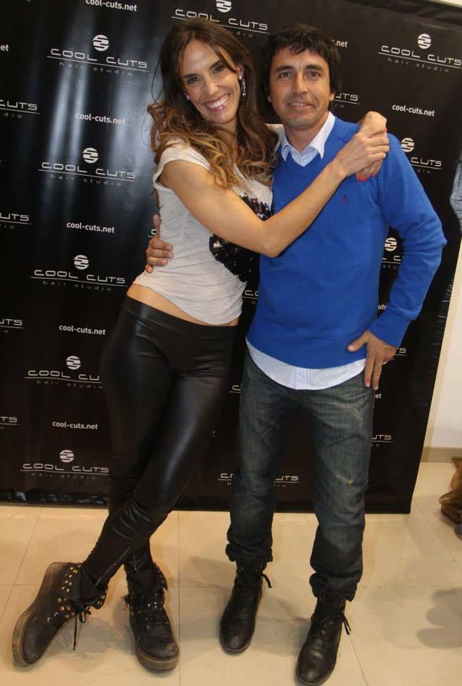 Alvaro con MAria Susini