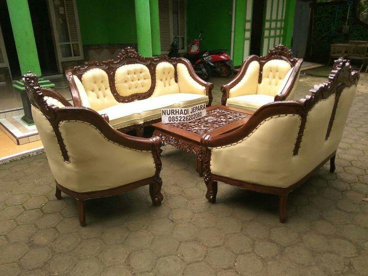 Kursi tamu ganesha.kursi tamu mewah.kursi tamu mewah ukir jepara Info lengkap pemesanan 085226202080